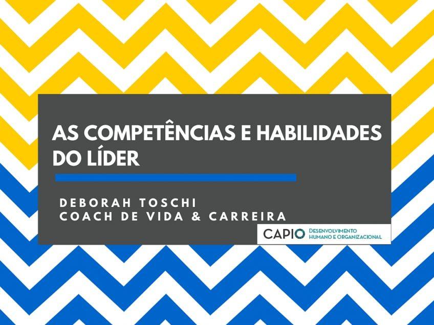 LIDERANÇA – COMPETÊNCIAS & HABILIDADES